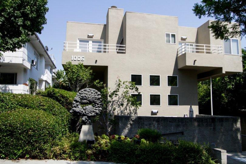 The Nouveau West Villas building in West Hollywood