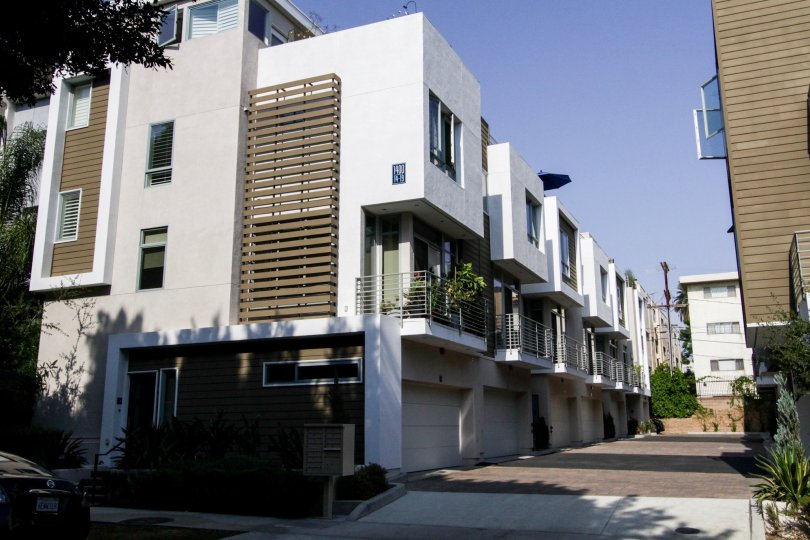 The Row3 units in West Hollywood