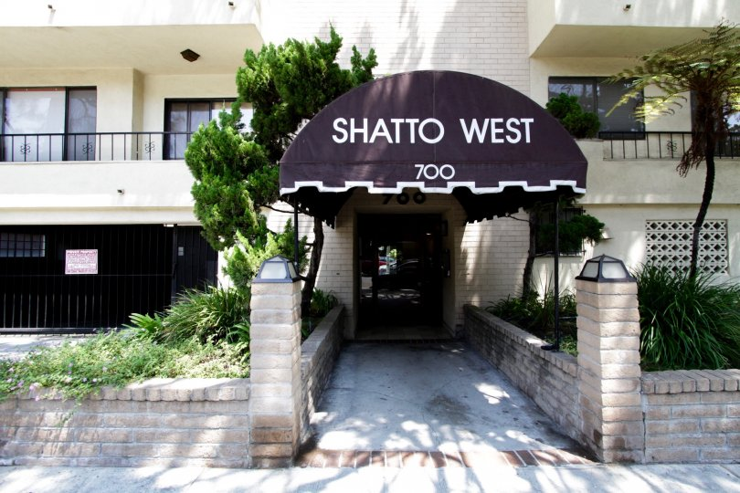 The address of Shatto West above the entrance