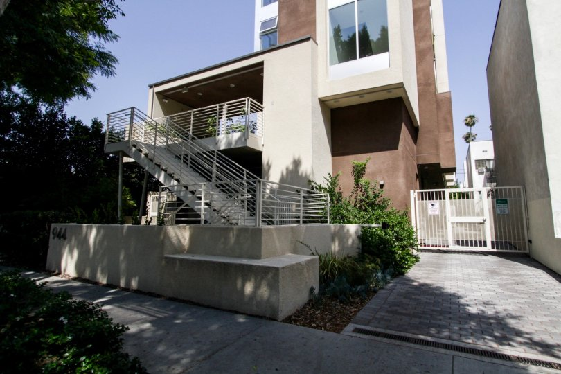 The Stanview Court building in West Hollywood