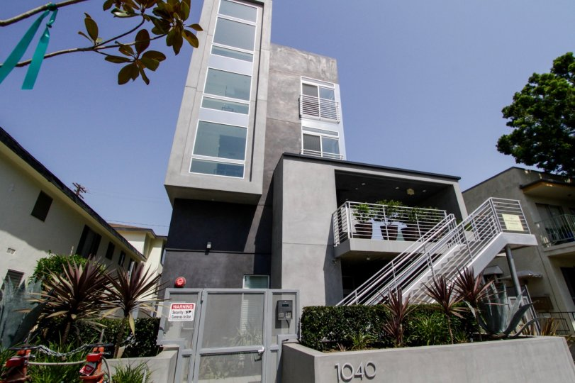 The Ten40 North Spaulding building in West Hollywood