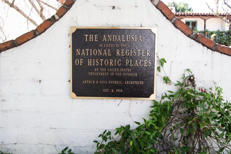 The history of The Andalusia in West Hollywood