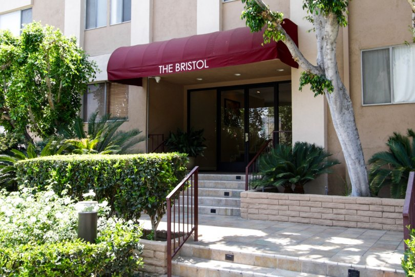The name of The Bristol in West Hollywood