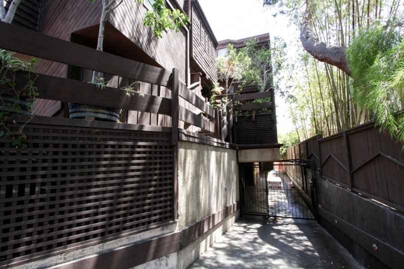 The parking for The Treehouse