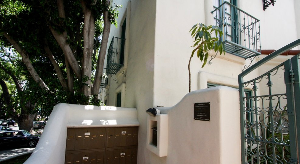The Villa Flores building in West Hollywood