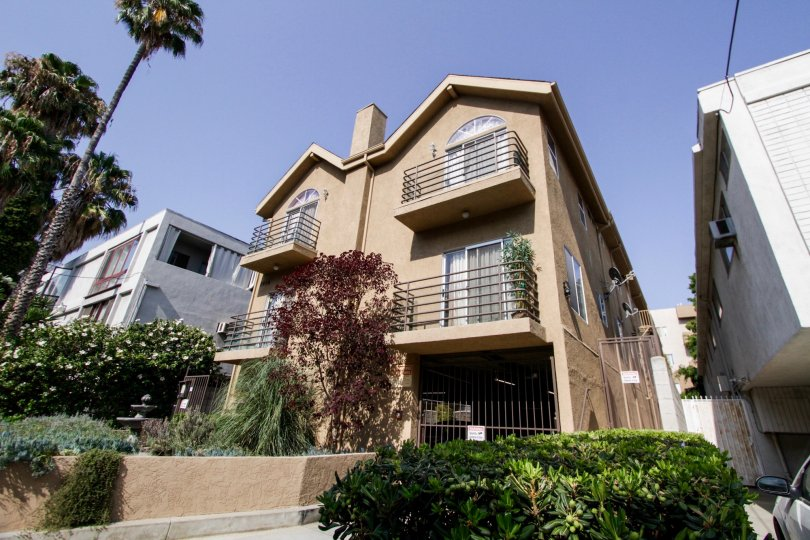 The view of Villas On Curson in West Hollywood