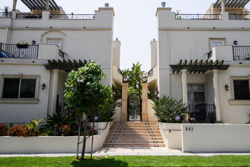 The entrance into Westmount Oasis in West Hollywood