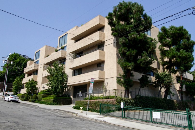 The Wetherly Terrace building in West Hollywood