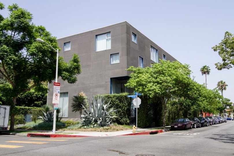 The Willoughby Lofts building in West Hollywood
