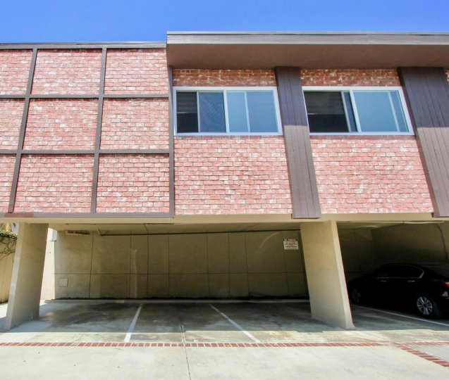 Apartment located at 1722 Brockton West LA, California with covered parking located underneath.