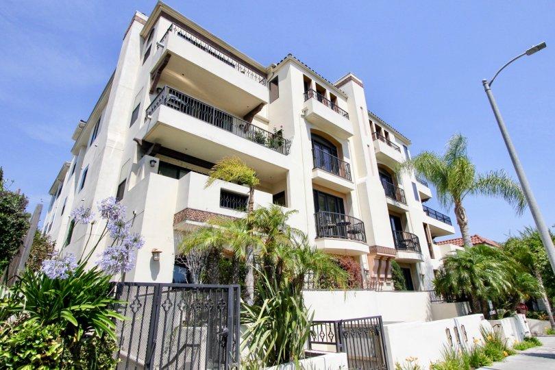 A beautiful view of Armacost Villas Apartment, West la, California
