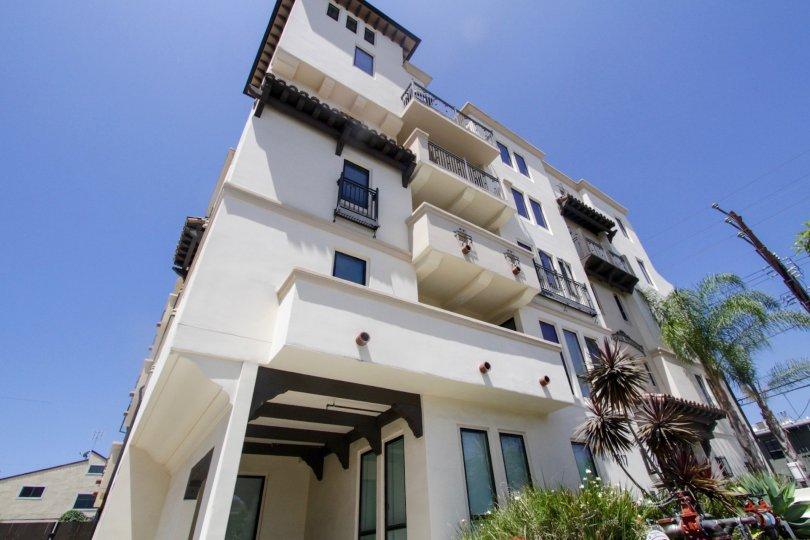 The beautiful architecture seen at Avenida Prosser in West LA