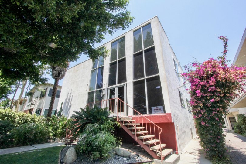 Beautiful and impressive modern structure of The Carmelina, West La, California