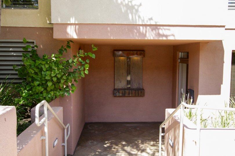 The entrance into The Courtyard Villas