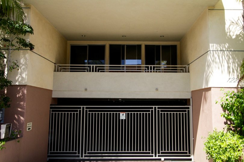 The parking for The Courtyard Villas in West LA