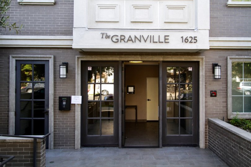 The entrance into The Granville