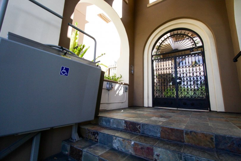 Disabled access is thought of at the Tuscan Sun in West LA