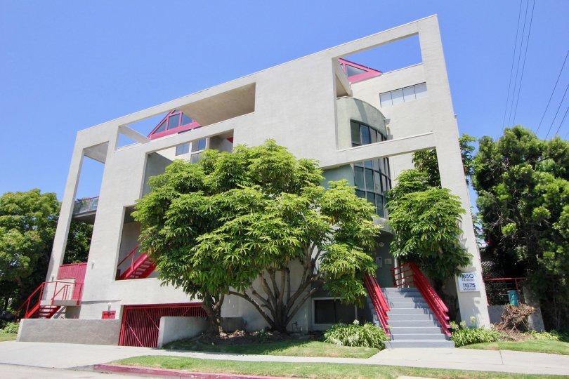 Sunny West Breeze II West LA California complex trees