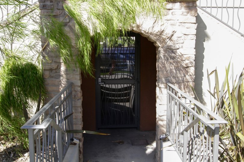 A private entrance into Westside at Barrington of West La