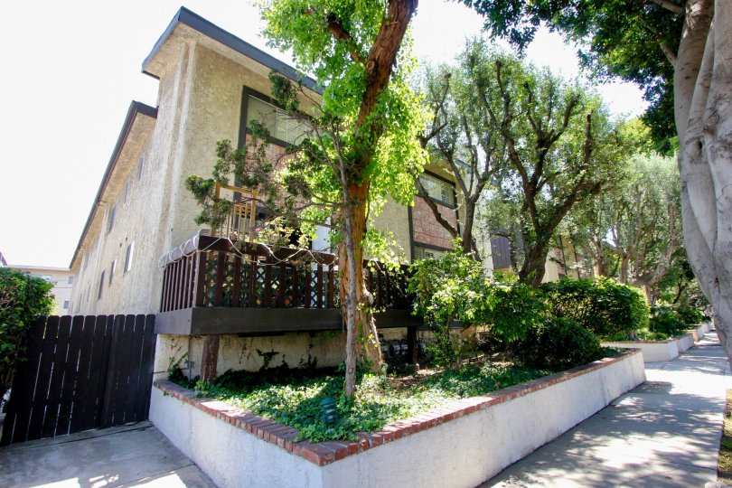 Experience the luxury with some greenery in the apartment resides in Westside Townhomes