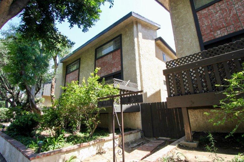Cute apartments of Westside Townhouse, West La, California