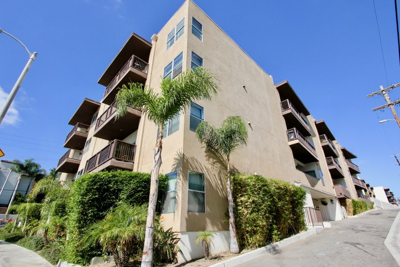 The view of Tremont Condominiums in Westchester, California