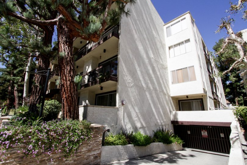 The Bel Air West building in Westwood