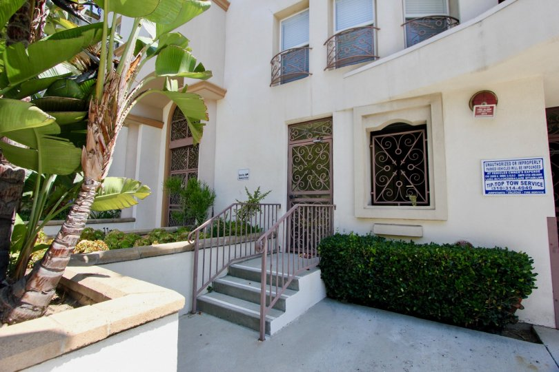 Entrance to the Bel-Agio community of Westwood, Ca.
