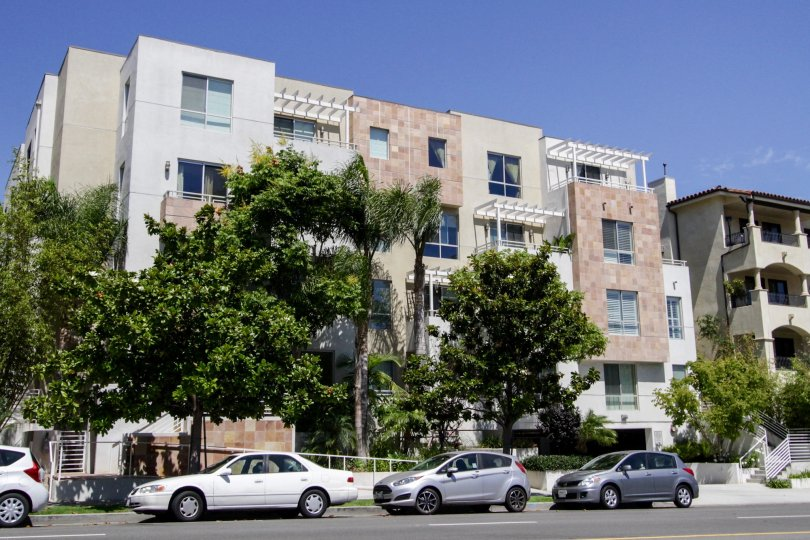 The Glen Court building in Westwood