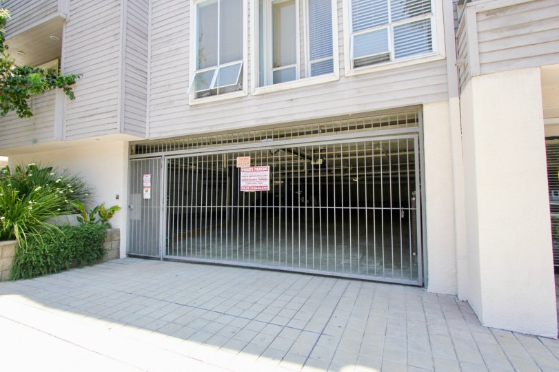 Private Parking garage in the Glenwood II Community in Westwood CAlifornia
