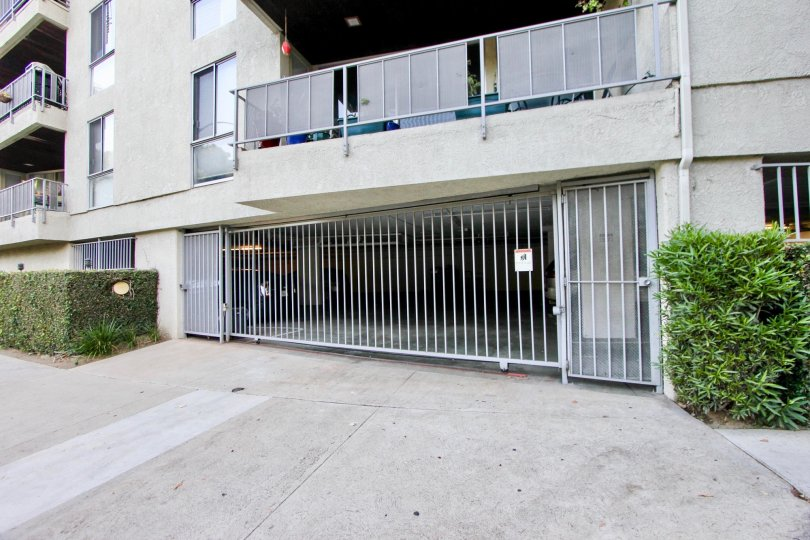 Westwood's Holland House offers secure parking and out door space