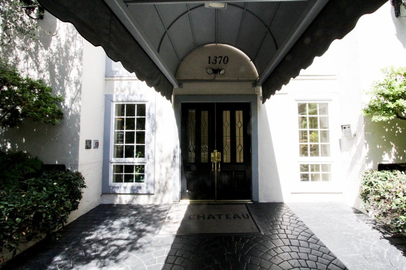 The doors leading into Le Chateau of Westwood