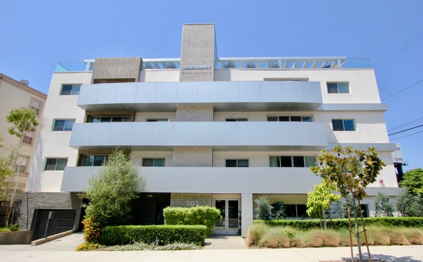 THE BUILDING IS LEGENDARY CENTURY CITY IT IS VERY NICE