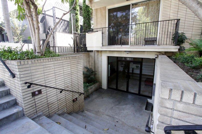 The entrance into Midvale Condos