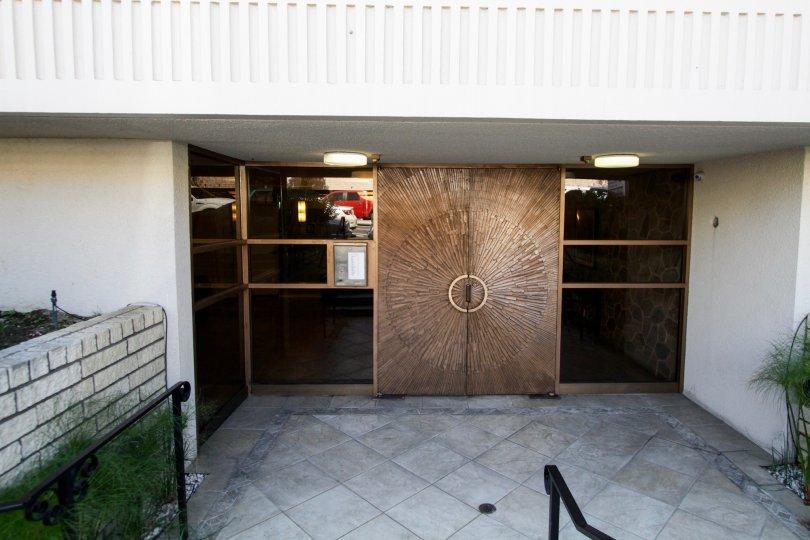 The entrance into the Montecito
