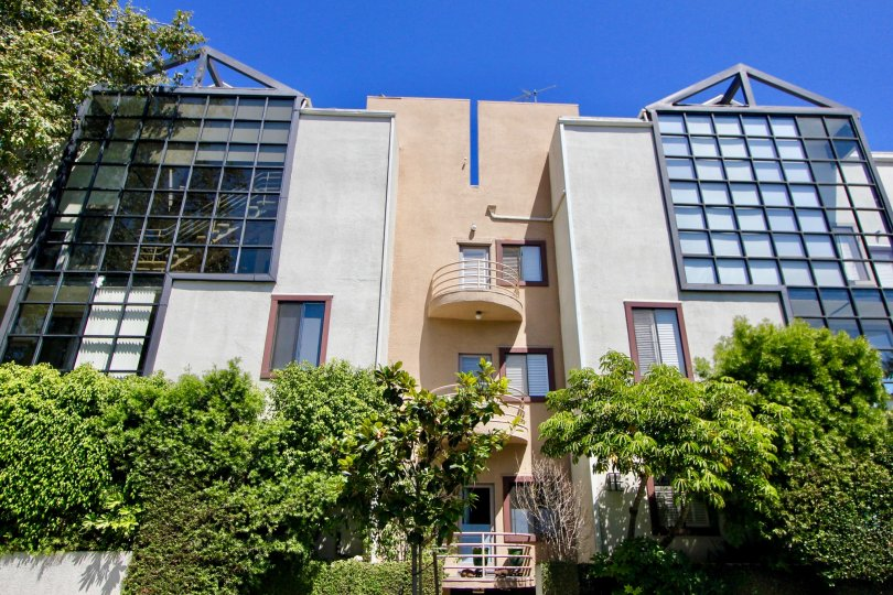Beautiful and strong West Breeze Apartment with it's glassy design, Westwood, California