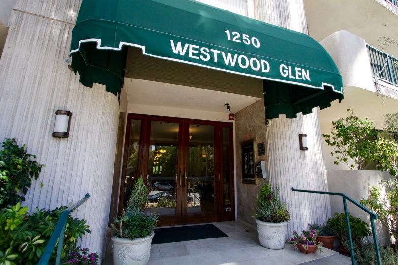 The entrance into the Westwood Glen in Westwood