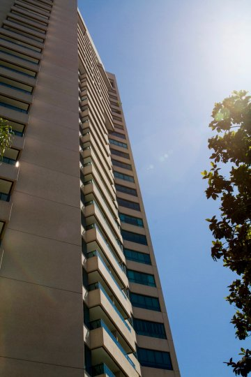 The windows at the Wilshire Lencrest