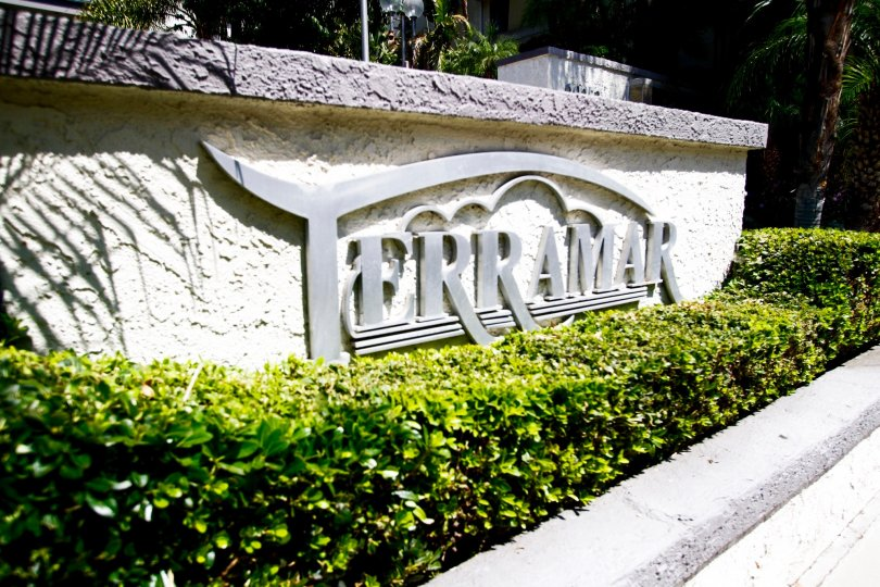 The Terramar name outside of the building