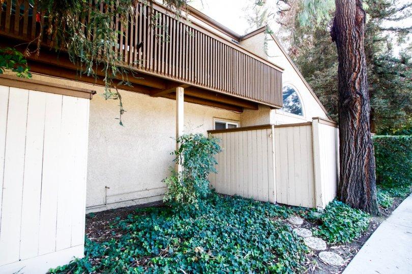 The patio at Sequoia Village in CA California