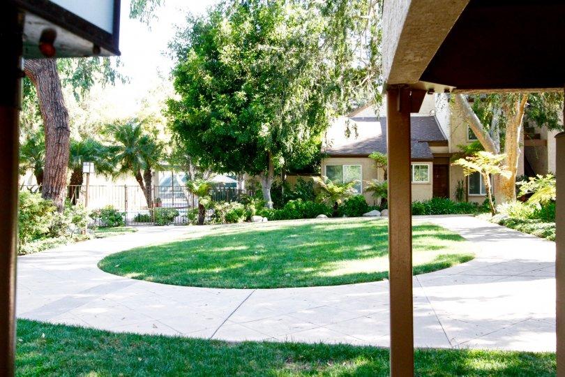 The common area of Sequoia Village