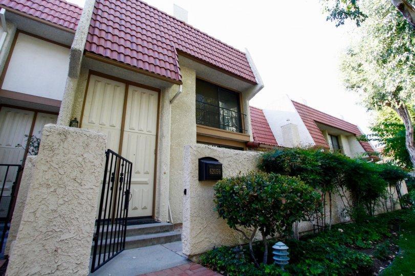 The entrance into Villa Castilla in CA California