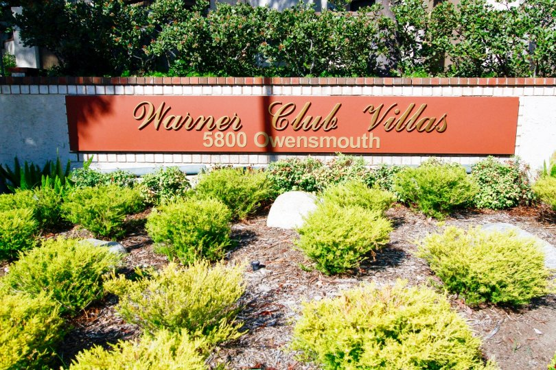 The name and address of Warner Club Villas