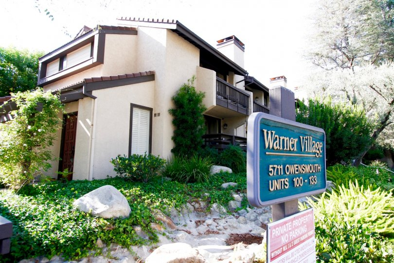 The Warner Village building in CA California