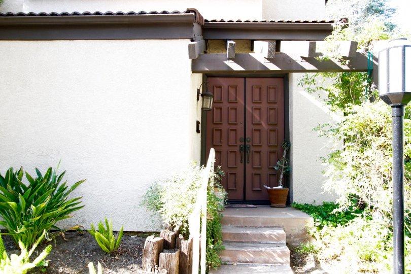 The entryway into Warner Village in CA California