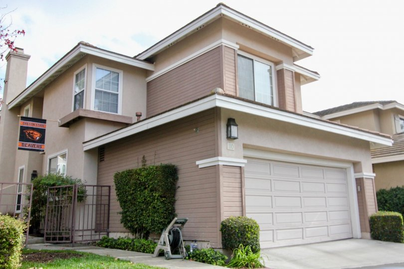 Beautiful two story cottages in the city of Aliso Viejo in the state of California.