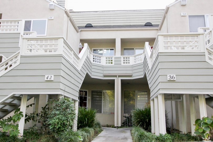 Charming well-kept apartments at Glenwood Village, located in Aliso Viejo, California