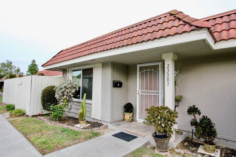 New World Condos a quiet community in Aliso Viejo, California.