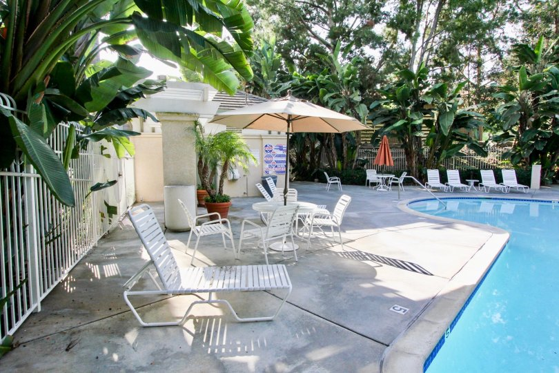 Clean, private and secure pool in Aliso Viejo California