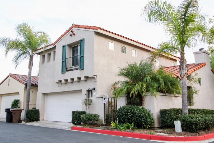beautiful homes at The Colony Homes located at Mira Mesa, California
